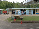 savusavu airport. they even had a sign that said