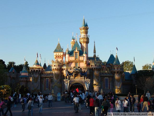 Walt Disney Castle Or The Other Neuschwanstein Castle