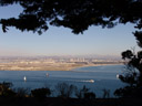 san diego, as seen from cabrillo national monument