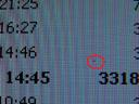 a stuck pixel on my brandnew Samsung SyncMaster 913N. 2006-02-20, Sony Cybershot DSC-F717.