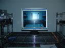 mein brandneuer Samsung SyncMaster 913N || foto details: 2006-02-20, rum, austria, Sony Cybershot DSC-F717.