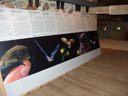 info-tafeln mit hörbeispielen verschiedener ultraschall-rufe || foto details: 2006-06-10, lienz / austria, Sony Cybershot DSC-F828.