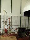 the experiment setup. 2006-06-27, Sony Cybershot DSC-F828. keywords: miller-urey-experiment