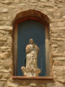 statue of the virgin mary, at sant francesc de borja de la carrosa