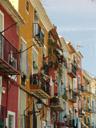 la villa joyosa || foto details: 2006-07-18, villajoyosa, spain, Sony Cybershot DSC-F828. keywords: la villa joyosa, la vila joiosa, colourful houses, house front, facade, cladding