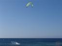 kitesurfer, leaping