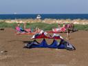 sundrying kites. 2006-07-21, Sony Cybershot DSC-F828.
