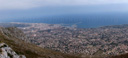panorama: denia, at the costa blanca