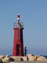 baby lighthouse, at denia marina
