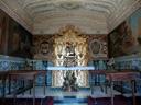 cisterna i capella moderna de sant jordi || foto details: 2006-08-02, castell de xativa (jativa), spain, Sony Cybershot DSC-F828. keywords: spanish, chapell, chapel, spanisch, spanische kapelle
