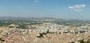 panorama: xativa || foto details: 2006-08-02, castell de xativa (jativa), spain, Sony Cybershot DSC-F828.