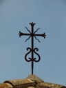 wroughtiron cross
