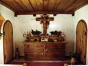 tiny chapel, at halleranger alm. 2006-08-19, Sony Cybershot DSC-F828.