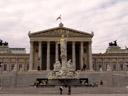 the austrian parliament building. 2006-10-28, Sony Cybershot DSC-F828.