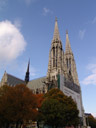 votivkirche - one of the world's most important neo-gothic religious architectural sites. 2006-10-28, Sony Cybershot DSC-F828.