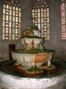 im brunnenhaus, baujahr 1295 || foto details: 2006-10-29, heiligenkreuz, austria, Sony Cybershot DSC-F828.
