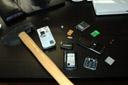13 parts of a k750i. 2006-12-23, Nikon D70s.