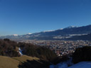view over innsbruck, from planötzenhof