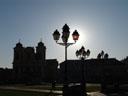 solar power. 2007-04-14, Sony F828. keywords: piata unirii, backlight, lantern, cathedral
