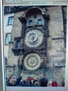 the original - lorenz is amazed at the astronomical clock. 2007-05-25, -., photo by -.