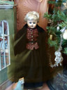 wooden empire doll from around 1830 - they knew how to make cute dolls back then!