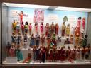lots of barbies. 2007-05-26, Sony F828. keywords: toy museum hracek prague, spielzeugmuseum hracek prag, barbie, collection johanna steiger