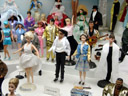 marilyn monroe barbie, michael jackson ken (with nose), the king ken, ...