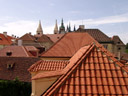 rooftops. 2007-05-26, Sony F828. keywords: dächer, dach, hausdach, orange, roofs