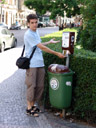 bad mailbox: a dog poop bag dispenser