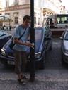 bad mailbox: the pole of a lantern. 2007-05-27, Sony F828., photo by anna.