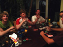 poker night - fritz, herbert, stefan, lisa, christoph