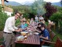 choir barbecue at johannes' place. 2007-06-30, Sony F828. keywords: fabio
