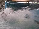 the end of the water slide. 2007-07-01, Pentax W20. keywords: alpamare, wasserrutsche