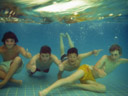 matteo, tom, wolfi & michael, underwater