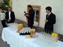 we helped at a wedding champaign reception.... 2007-06-02, SonyEricsson K750i. keywords: tom, anton