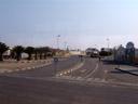 entering swakopmund. 2007-09-02, Sony F828.