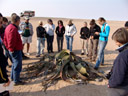 prof. bortenschlager talks about the welwitschia. 2007-09-03, Sony F828.