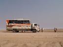 ...zurück in den bus || foto details: 2007-09-03, welwitschia plains, namibia, Sony F828.