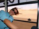 annemarie and the golden dunes of swakopmund. 2007-09-03, Sony F828.