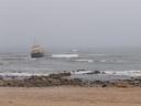 shipwreck near swakopmund. 2007-09-03, Sony F828.