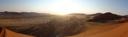 panorama: the view from dune 45, sossusvlei