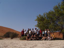 sossusvlei group photo. 2007-09-05, Sony F828.