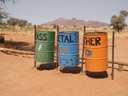 colourful trash cans - or: a matter of perspective
