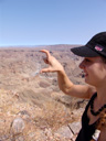 to be honest, i expected fish river canyon - africa\'s largest canyon - to be a litte ...bigger.