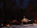 christmas mass at the höttinger bild pilgrimage chapel, 11pm on december 24th