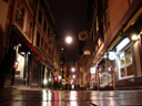 rue des tonneliers, at night. 2008-02-20, Sony F828.