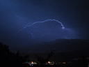 flashes of lightning in tirol
