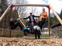 yet another choir goup photo ;) - markus, andi, lisa, fabio, martina & christoph