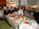 lisa's birthday: lukrezia, lisi, walli, carina, lisa, stefan and philipp