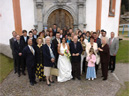 wedding photo: nadja, robert, and everybody else